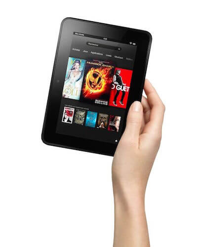 Prise en main Kindle Fire HD