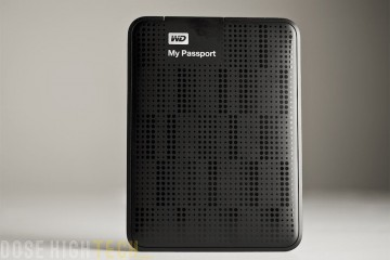 Western Digital My Passport de face