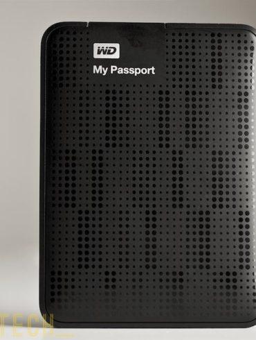 Western Digital My Passport de face