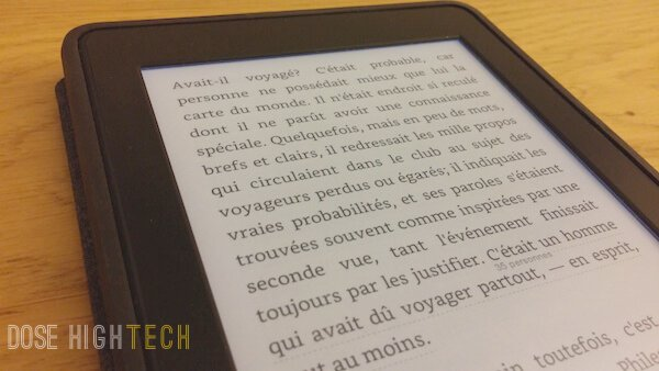 Ecran Kindle Paperwhite 2013