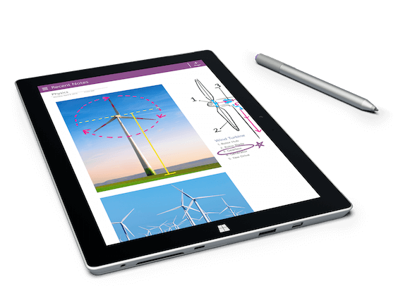 Microsoft Surface 3 Tablette Tactile 10,8 pouces