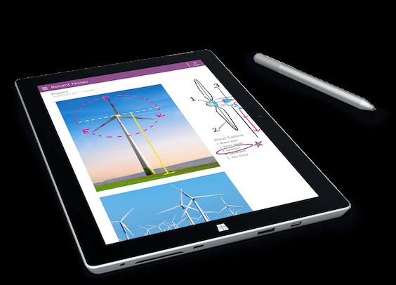 Microsoft Surface 3 Tablette Tactile 10,8 pouces