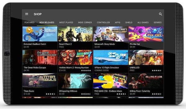 Nvidia Shield K1 Tablette Tactile Jeux 8 pouces