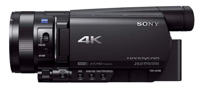 Sony FDR-AX100 Caméscope 4K