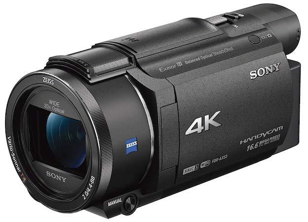 Sony FDR-AX53 Caméscope 4K